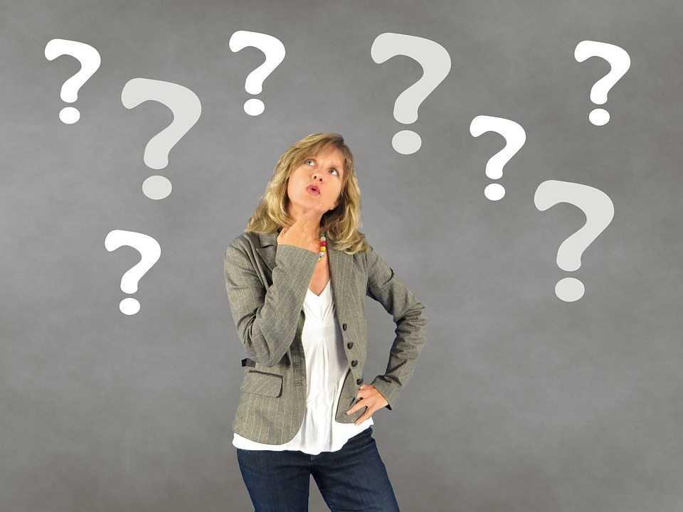 אישה עם שאלות - טיפים לפסיכמוטרי